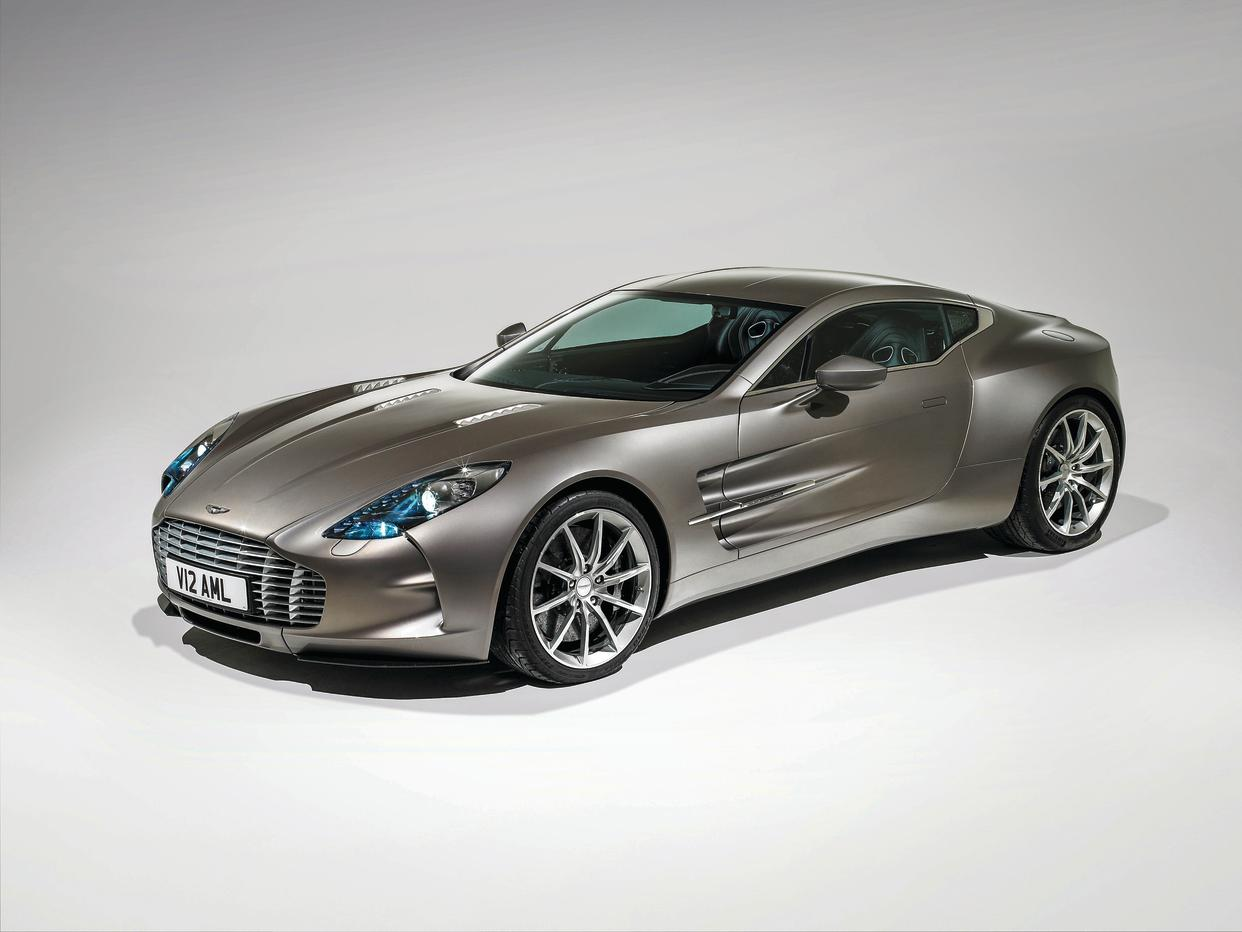 The One-77 is a high-end, low-volume car from Aston Martin