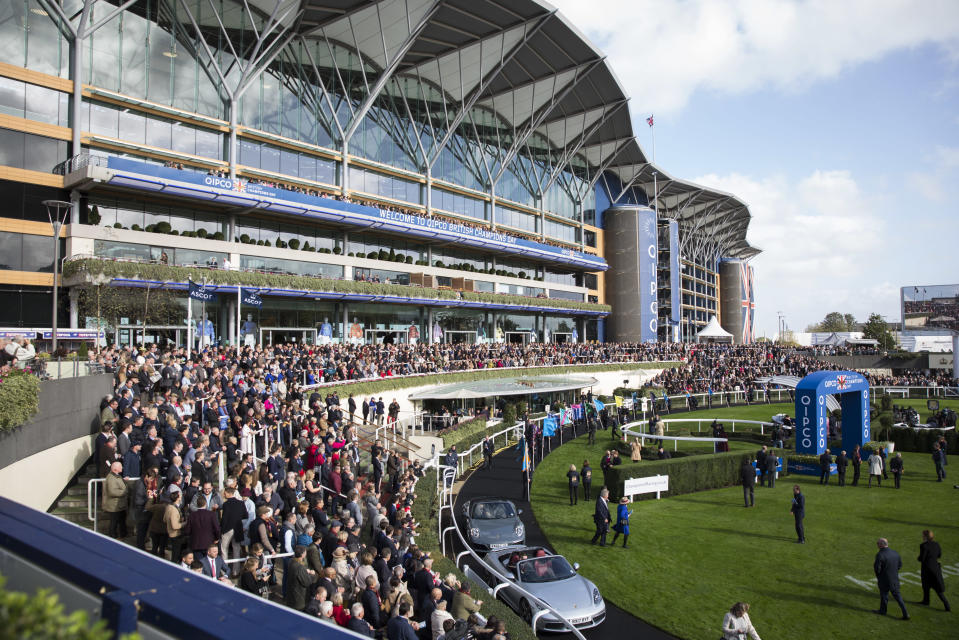 A free day out at Ascot is on offer. Getty Images