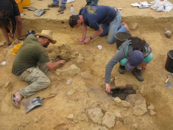 The 15,000 year old Jersey site being excavated (Ice Age Island)