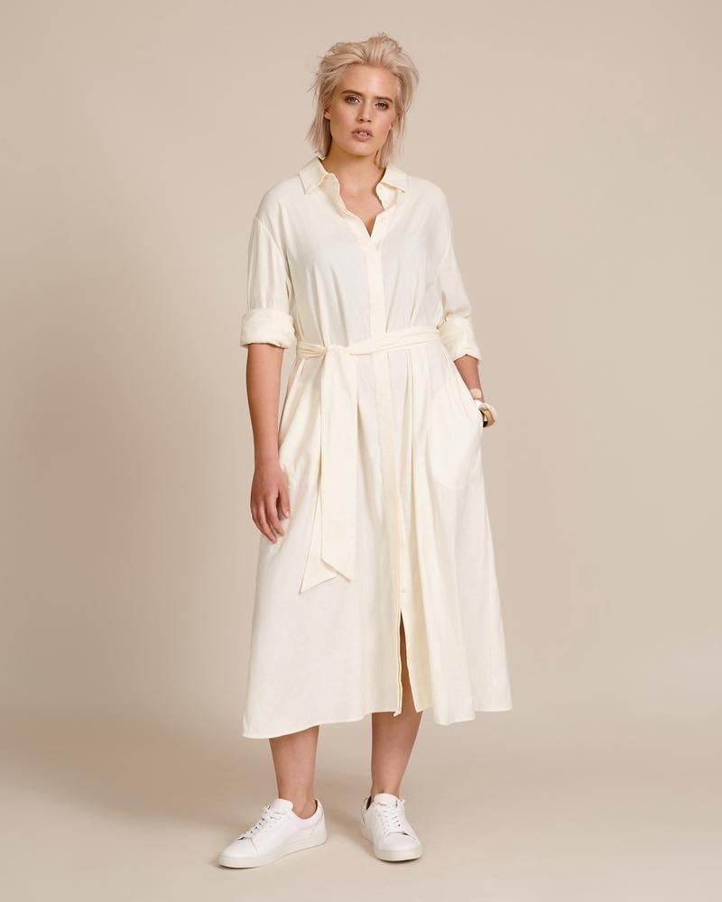 <p>Meet your new favorite dress, the <span>11 Honore Chrissy Shirt Dress</span> ($568).</p>
