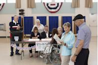 """<p>The couple that votes together stays together; isn't that how the saying goes? Make sure your honey is registered, then fill out your absentee ballots or head to your polling place together. Bonus points for a cute selfie with your """"I voted"""" stickers.</p>"""