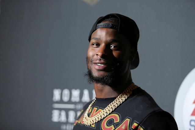 Le'Veon Bell hasn't played in an NFL game since 2017. (Photo by Omar Vega/Invision/AP)