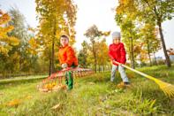 "In order to keep your yard healthy all winter long, leave raking leaves <em>off</em> your fall to-do list. ""Fallen leaves act as a wonderful winter blanket for soil, insulating the plants roots and preventing erosion,"" says gardening expert <strong>Stephanie Rose</strong>, the founder of <a href=""https://gardentherapy.ca"" rel=""nofollow noopener"" target=""_blank"" data-ylk=""slk:Garden Therapy"" class=""link rapid-noclick-resp"">Garden Therapy</a> and author of the upcoming book <a href=""https://fave.co/36lyGUv"" rel=""nofollow noopener"" target=""_blank"" data-ylk=""slk:Garden Alchemy"" class=""link rapid-noclick-resp""><em>Garden Alchemy</em></a>. In leaving your leaves alone, Rose says you'll provide food and shelter for wildlife throughout the winter and maintain your garden's delicate ecosystem in the process. Plus, from an aesthetic perspective, this will also ""provide winter interest as seed heads and branches become decorated with snow,"" she notes."