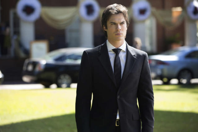 "Ian Somerhalder as Damon in ""My Brother's Keeper,"" the seventh episode of ""The Vampire Diaries"" Season 4."