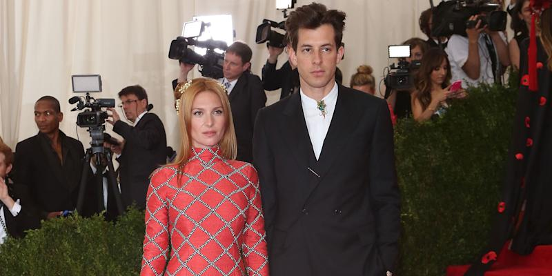 Josephine de La Baume files for divorce from Mark Ronson