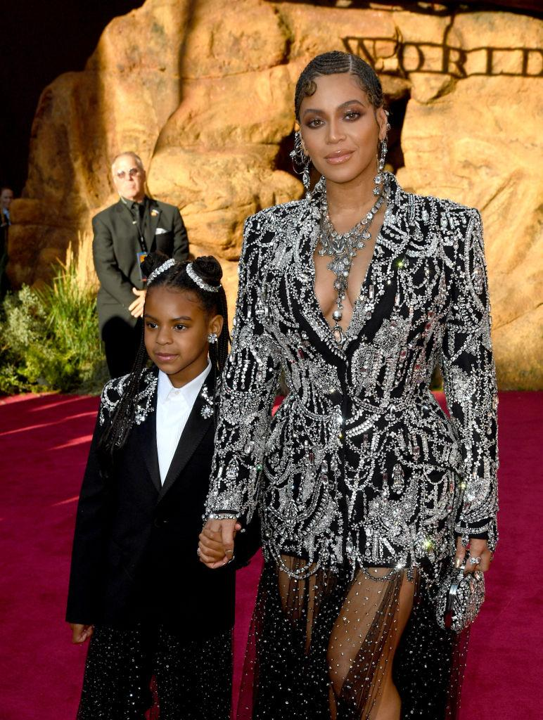 We're just waiting for Blue Ivy's first single to drop. <em>(Image via Getty Images)</em>