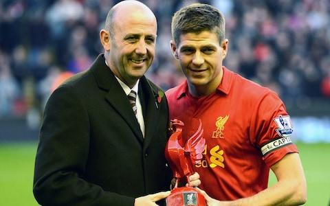 """Steven Gerrard walked into the goldfish bowl of life as Rangers manager and declared himself """"ready for the challenge"""" after revealing he had turned down eight other job offers before getting """"a special feeling"""" about taking over at Ibrox. The former England captain was unveiled in front of a crowd of 7,000 fans as the 37-year-old quit his job as Liverpool Under-18 coach to take on the daunting task of overhauling Celtic and his old manager, Brendan Rodgers. Gerrard vowed to """" leave his ego"""" at the door as he spelt out why he had taken the Rangers job after revealing he had turned down numerous offers to leave his role at Liverpool. And he also admitted that until Liverpool made him aware of the approach from the 54-time Scottish champions he had expected to stay at Anfield and emerge as a potential successor to Jürgen Klopp. When asked if he had been tempted to stay at Liverpool and be in the frame to manage the club, Gerrard replied: """"Yes. I had probably as many as eight other opportunities to be a manager, to be a number two, to be a coach, which presented themselves since I came home from Los Angeles [Galaxy, where he finished his playing career], but I never got the right feeling from them. When Rangers came, it was a game changer. """"The first phone call came from Liverpool. They made me aware Rangers had been in touch and wanted permission to speak to me. Steven Gerrard will flourish or fail at Rangers on his record against Celtic """"It wasn't a phone call I was expecting. I had a special feeling inside my stomach. My reply was 'Yes, I would like the opportunity to speak to Rangers'."""" If Gerrard were unaware of the excitement his arrival has caused then the reception he received will have changed that. There were so many supporters at Ibrox that police had to close to road outside the stadium, and when a fire engine raced past it prompted the thought this would have been an entirely apt mode of transport for Gerrard's first managerial appointment. He takes the jo"""