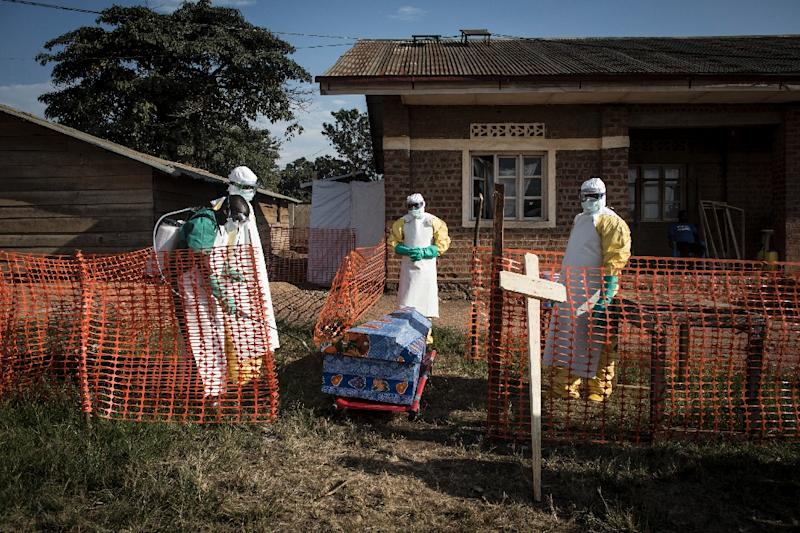 Ebola death toll rises in DRC outbreak
