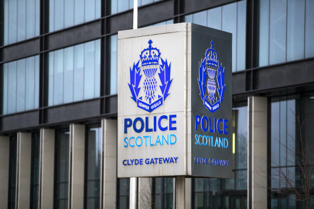 Police Scotland is investigating a stabbing in Glasgow. (Jane Barlow/PA Wire)