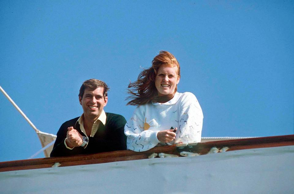 <p>Prince Andrew and Sarah Ferguson spent their honeymoon in this island cluster west of Portugal — and were all smiles upon their return.</p>