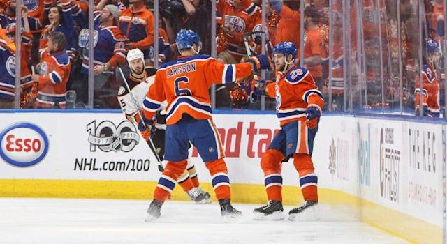 Leon Draisaitl's emergence as a top-flight player in the NHL underscores the importance of winning now for the Oilers. (THE CANADIAN PRESS/Jason Franson)