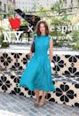 <p>Actress Katie Holmes is seen during the Kate Spade New York Popup Installation VIP Opening Party for NYFW: The Shows at Gansevoort Plaza on September 8.</p>