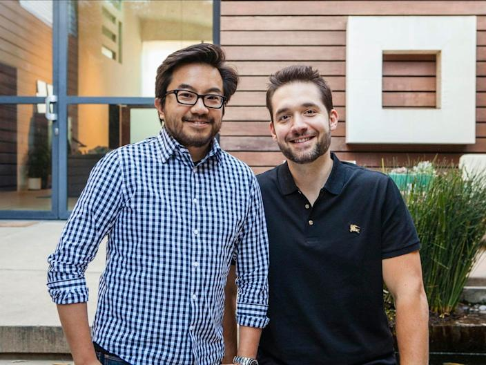 Garry Tan and Alexis Ohanian, cofounders of Initialized Capital.