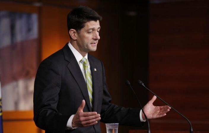 House Speaker Paul Ryan addresses the press after the health care bill collapsed.