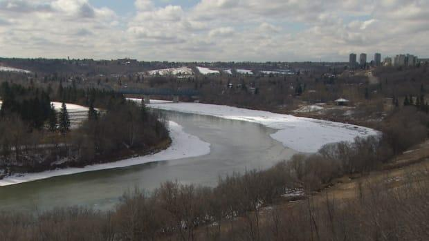 The ice is almost gone from the North Saskatchewan as Edmontonians enjoy their first taste of summer temperatures.