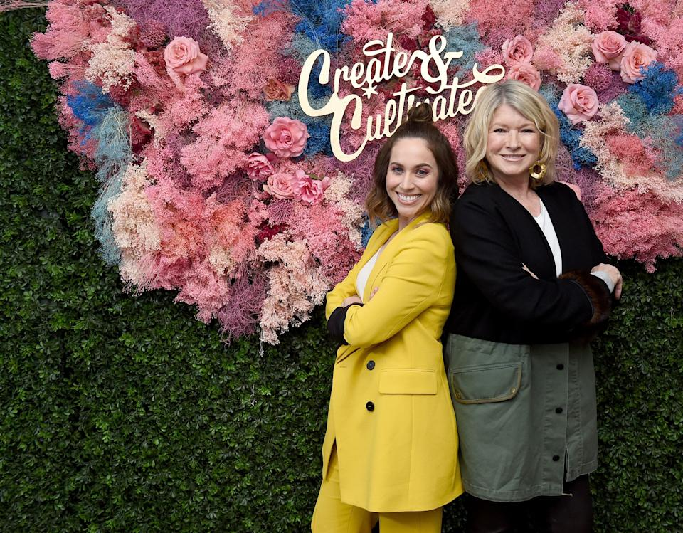 BROOKLYN, NEW YORK - MAY 04:  Jaclyn Johnson and Martha Stewart attend Create & Cultivate New York presented by Mastercard at Industry City on May 04, 2019 in Brooklyn, New York. (Photo by Ilya S. Savenok/Getty Images for Create & Cultivate)