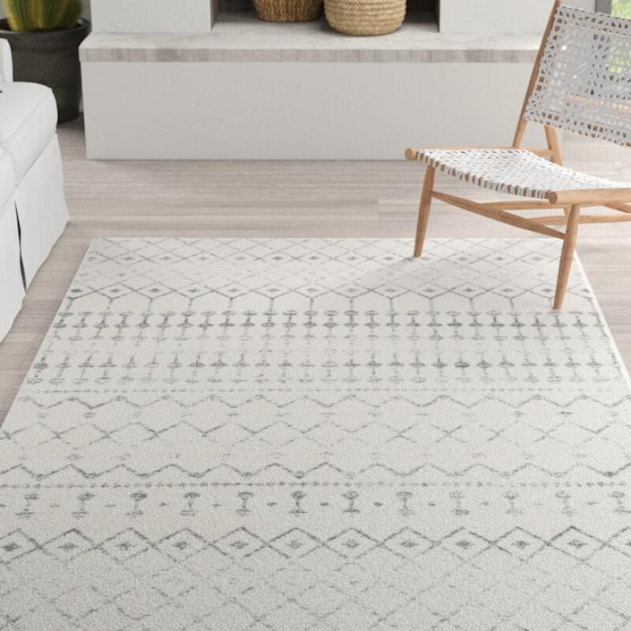 All it takes is the right rug to transform any space. (Photo: Wayfair)