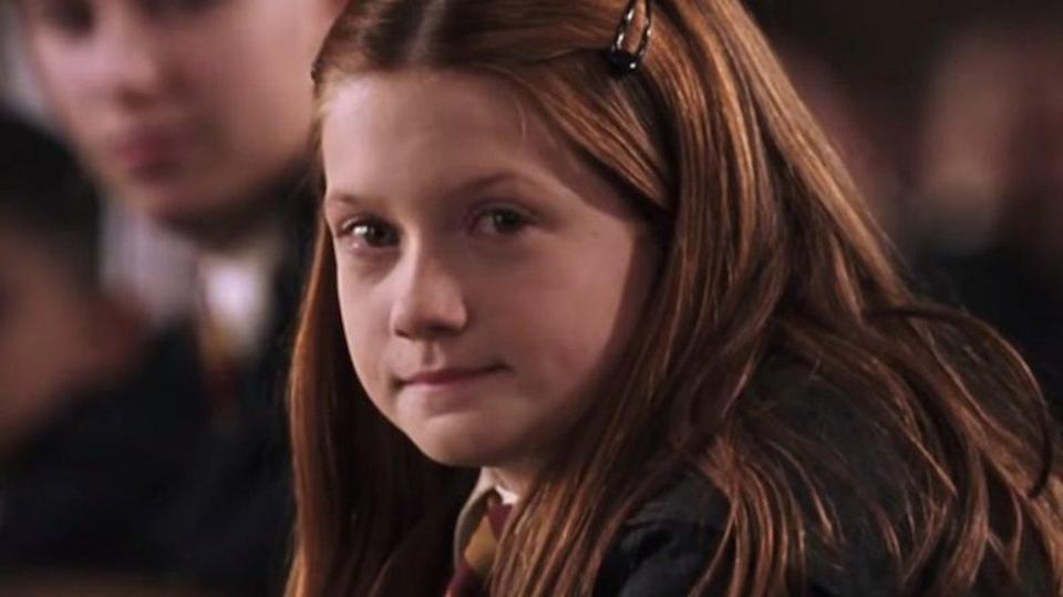 Bonnie Wright as Ginny Weasley in Harry Potter