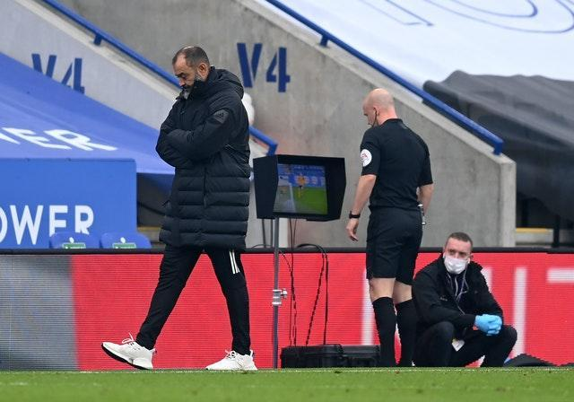 Referee Anthony Taylor made his penalty decision after watching slow-motion replays