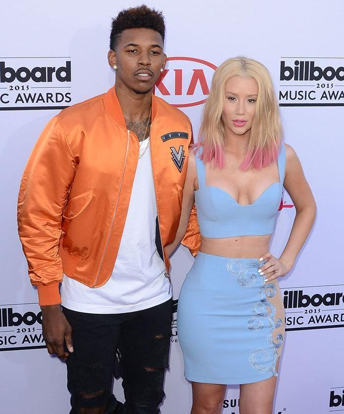Iggy Azalea and Nick Young. Photo: Getty Images.