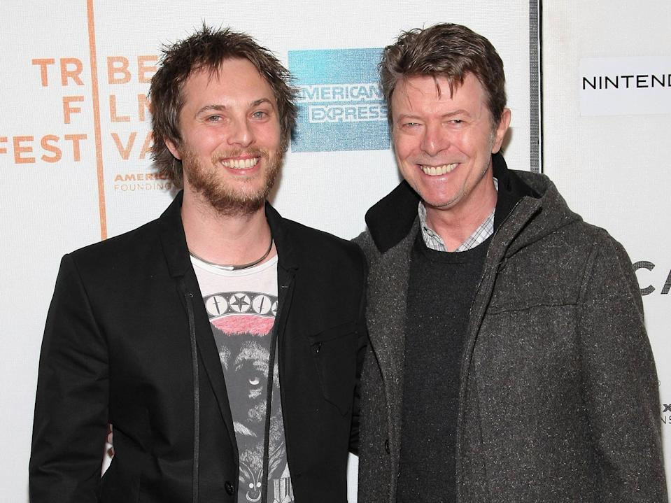 David Bowie and Duncan Jones (Credit: Getty)
