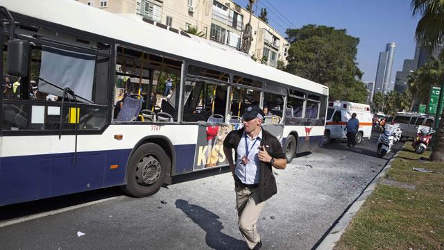 Bus Explodes in Tel Aviv as Diplomats Work Toward Truce (ABC News)