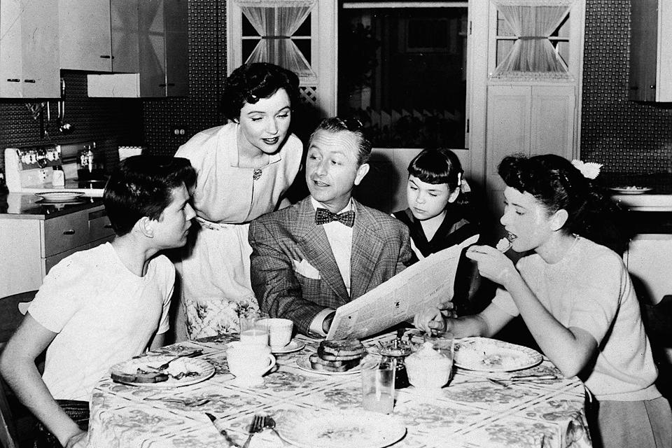 "<p>During the week of Thanksgiving in 1954, the NBC sitcom <em>Father Knows Best</em> aired a holiday episode in which the Anderson family gathered around the table to pray before their meal. Their thankfulness for ""living as free men in a country which respects our freedom and our personal rights to worship and think and speak as we choose"" resonated with families across America during <a href=""https://www.goodhousekeeping.com/life/entertainment/g4505/50-facts-about-the-50s/"" rel=""nofollow noopener"" target=""_blank"" data-ylk=""slk:that decade"" class=""link rapid-noclick-resp"">that decade</a>.</p>"