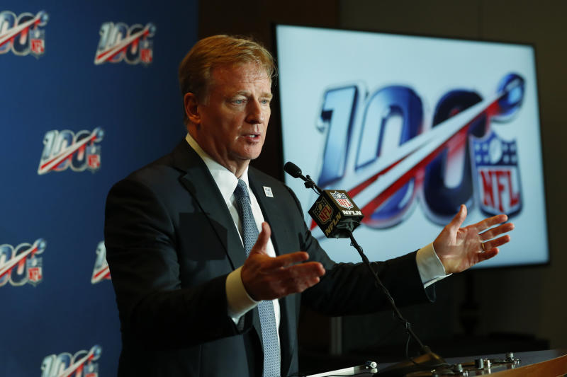 NFL salary cap could top $200 million for 1st time in 2020