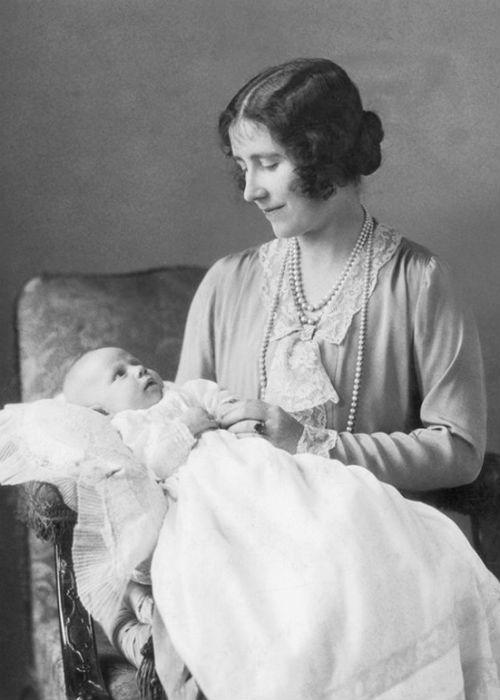 "Queen Elizabeth's mother, also named Elizabeth and commonly referred to as 'The <a href=""https://ec.yimg.com/ec?url=http%3a%2f%2fnews.bbc.co.uk%2fhi%2fenglish%2fstatic%2fobituaries%2fqueen_mother%2fdefault.stm%26quot%3b%26gt%3bQueen&t=1503011374&sig=pd1khVliP6aGXjDQV4co2g--~D Mother</a>,' is shown here with her younger daughter, <a href=""http://www.guardian.co.uk/news/2002/feb/11/guardianobituaries.princessmargaret"">Princess Margaret,</a> born in 1930. Unlike her older sister Queen Elizabeth, Margaret was often the source of much tabloid fodder. At the age of 16 she fell in love with her father (King George VI)'s equerry, Peter Townsend, but was forbidden to marry him because he was divorced."