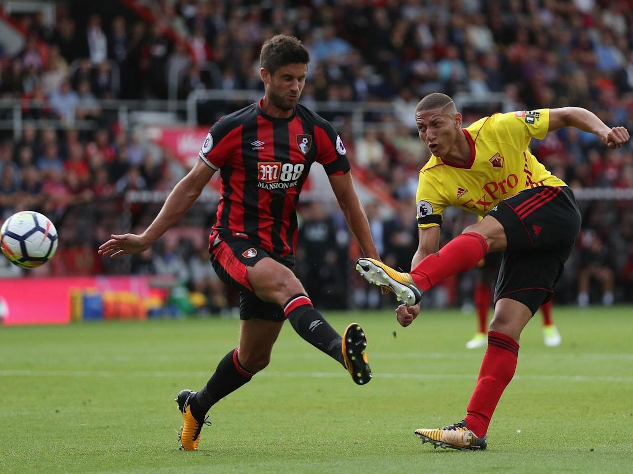 Richarlison nets first Watford goal as Hornets keep Bournemouth winless