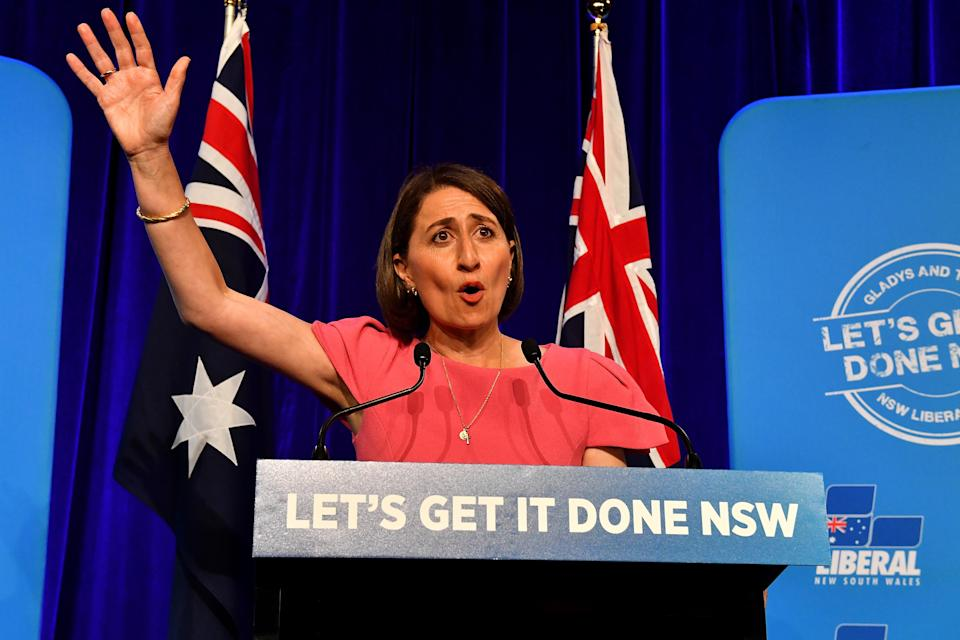 Gladys Berejiklian says she is open to working with crossbench MPs. Source: AAP