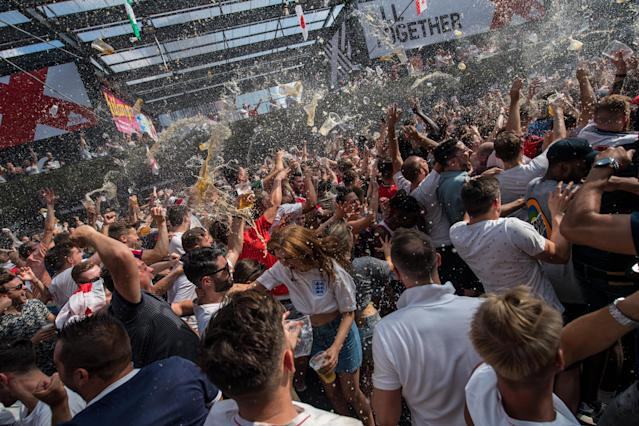 Fans have been going crazy in Boxparks and drinking in the World Cup vibe