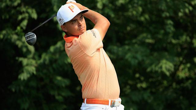 Rickie Fowler has been suffering from an oblique injury, which ultimately took him out of the PGA Tour's first post-season event.