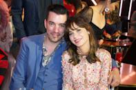 """J.D. Scott <a href=""""https://people.com/tv/zooey-deschanel-opens-up-jd-scotts-wedding-with-jonathan/"""" rel=""""nofollow noopener"""" target=""""_blank"""" data-ylk=""""slk:said of his brother's new relationship"""" class=""""link rapid-noclick-resp"""">said of his brother's new relationship</a>, """"All I've ever wanted for my brother is for him to be happy. I'm excited that he's got someone that's really great."""""""