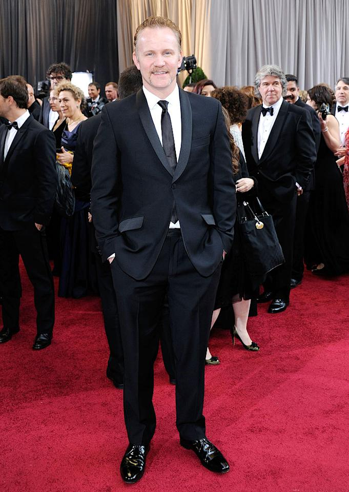 Morgan Spurlock arrives at the 84th Annual Academy Awards in Hollywood, CA.