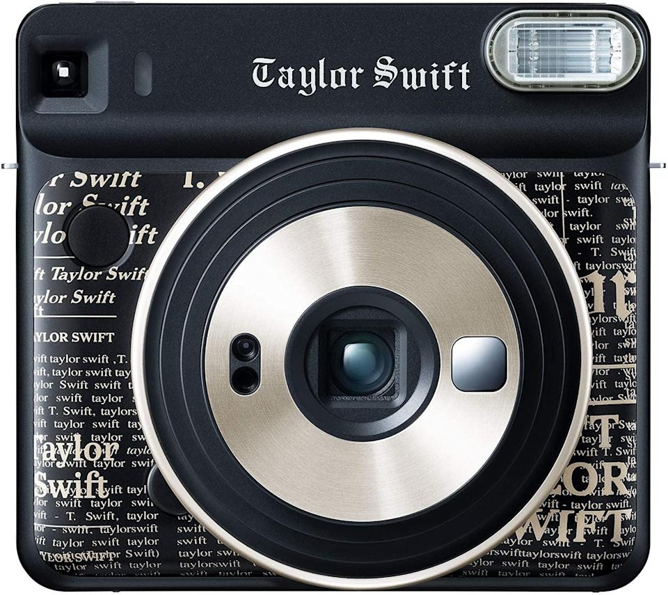 "<p>They'll have a field day taking pictures with this <a class=""link rapid-noclick-resp"" href=""https://www.popsugar.com/Taylor-Swift"" rel=""nofollow noopener"" target=""_blank"" data-ylk=""slk:Taylor Swift"">Taylor Swift</a> <span>Fujifilm Instax Square SQ6</span> ($140).</p>"
