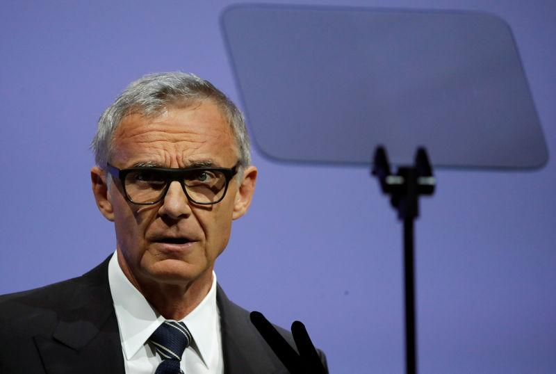 Chairman Rohner of Swiss bank Credit Suisse addresses annual shareholder meeting in Zurich