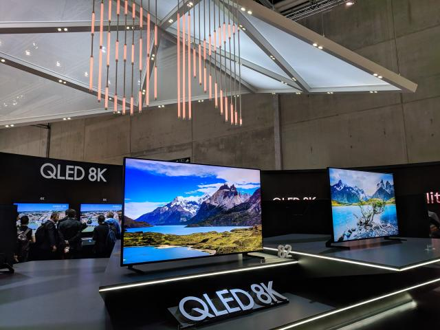 Move over 4K, 8K TVs are already here.