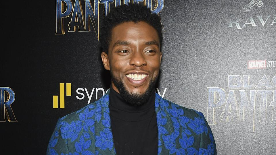 "Mandatory Credit: Photo by Evan Agostini/Invision/AP/REX/Shutterstock (9375917cd)Chadwick Boseman attends a special screening of ""Black Panther"" at the Museum of Modern Art, in New YorkNY Special Screening of ""Black Panther"", New York, USA - 13 Feb 2018."