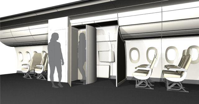 <b>The Diehl Changeroom<br></b>The Changeroom can be constructed quickly in front of a plane door to add a changing cabin.<br><br>