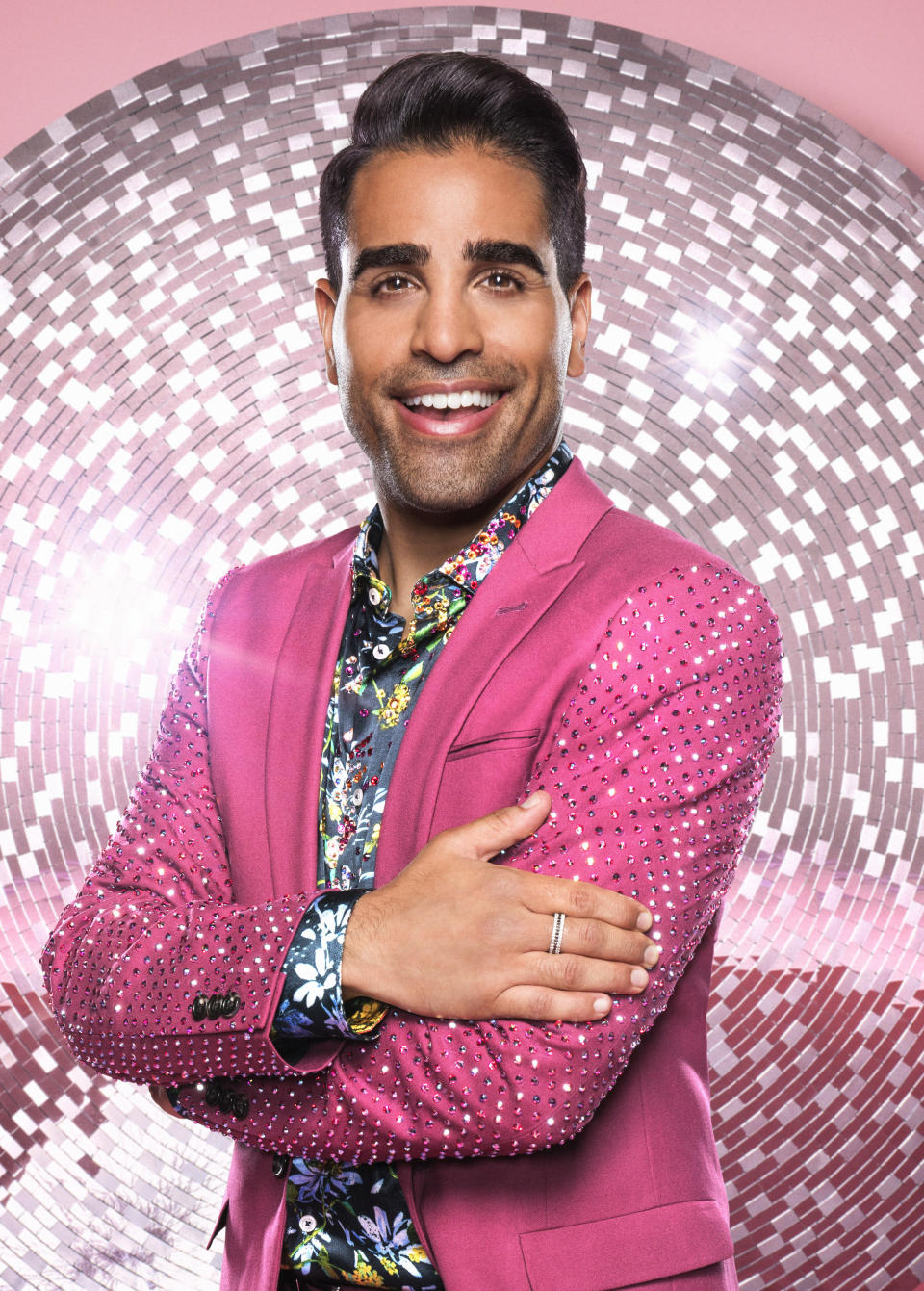 """<p>CBBC presenter and This Morning's resident doctor told us he's got some advice from Ruth Langsford, who competed in Strictly just last year. """"Ruth gave me her number and said 'Just call me anytime, if you're going through anything or you're nervous, just give me a ring.' And that is Ruth through and through,"""" he said. (BBC Pictures) </p>"""