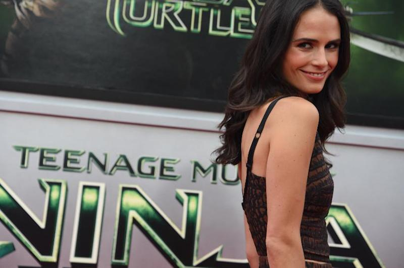 """Actress Jordana Brewster attends the premiere of """"Teenage Mutant Ninja Turtles"""" on August 3, 2014 at the Regency Village Theater in Los Angeles (AFP Photo/Robyn Beck)"""