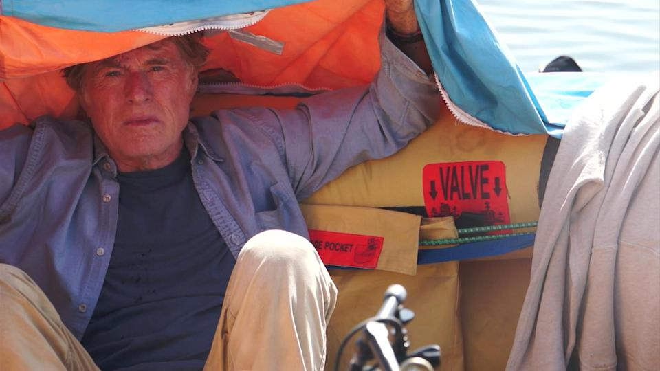 The only star of 'All is Lost', as he's the only actor in the whole film, is the one and only Robert Redford.