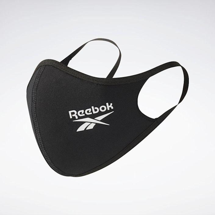 """<p><strong>reebok</strong></p><p>reebok.com</p><p><strong>$20.00</strong></p><p><a href=""""https://go.redirectingat.com?id=74968X1596630&url=https%3A%2F%2Fwww.reebok.com%2Fus%2Fface-covers-xs-s-3-pack%2FH18221.html&sref=https%3A%2F%2Fwww.womenshealthmag.com%2Ffitness%2Fg35246161%2Fbest-breathable-masks-to-workout-in%2F"""" rel=""""nofollow noopener"""" target=""""_blank"""" data-ylk=""""slk:Shop Now"""" class=""""link rapid-noclick-resp"""">Shop Now</a></p><p>Made from recycled polyester and elastane, this three-pack comes with two-ply masks that are soft, stretchy, and breathable for workouts. With a snugger fit, we'd suggest them for less-intense activities where your breath remains controlled. They fit securely over the nose, mouth, and chin for a safe sweat sesh and are machine washable for easy cleaning. </p><p>Reviewer rave: """"I have been wearing these masks for the gym since July and anytime that I need to wear a mask for a long period of time. I would highly recommend them. I see other gym members struggle with their masks constantly and I can get through spin classes with these masks. I wear an XS/S but I am pretty petite. They have the mask size on the website to help with sizing."""" <em>—Jess, reebok.com</em></p>"""