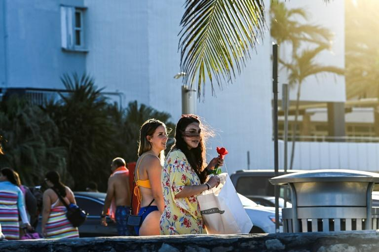 Miami Beach, Florida typically draws thousands of young people from across the country every spring