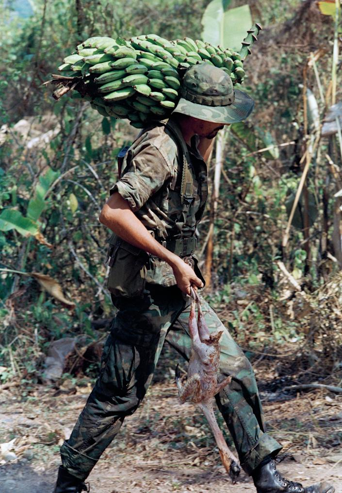 """The Reagan administration funded the Contra rebels against the Marxist Sandinista government in Nicaragua. Regarded by many as terrorists, <a href=""""http://articles.latimes.com/1985-03-08/news/mn-32283_1_contras"""">the Contras murdered, tortured and raped civilians</a>. When human rights organizations reported on the crimes, the Reagan administration accused them of working on behalf of the Sandinistas."""