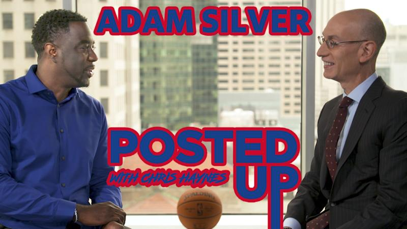 Chris Haynes sits down with NBA commissioner Adam Silver on the eve of the NBA finals for a conversation about how the league approaches some of the most important topics in 2019. (Yahoo Sports)