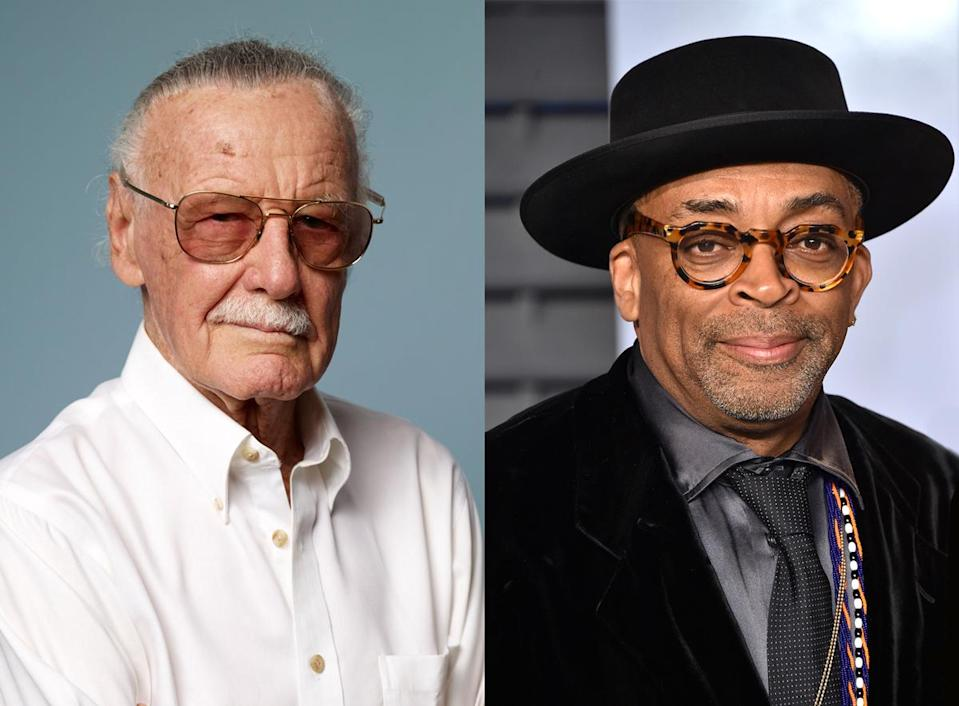 Stan Lee and Spike Lee (Photos: Getty Images)