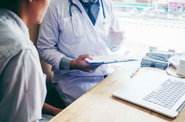 PHOTO: A doctor is pictured with a patient in this undated stock photo. (STOCK PHOTO/Shutterstock)