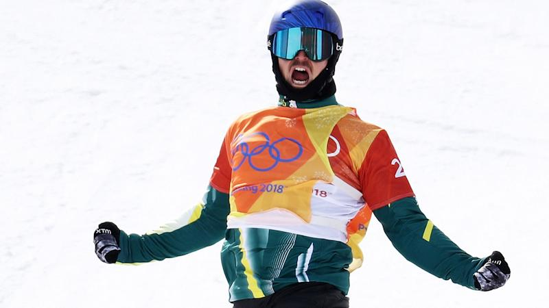 Alex Pullin, pictured here in action at the 2018 Winter Olympics in Pyeongchang, South Korea.